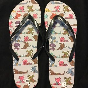 Shoes - Dog Flip Flops
